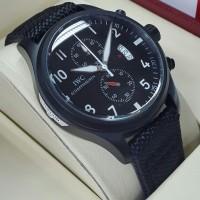 Jam Tangan Iwc Schaffhausen Canvas Super Premium AAA+