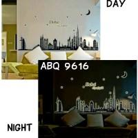 Jual Wall Stiker Glow In The Dark Uk.60x90 Wall Sticker Dinding Dubai Murah