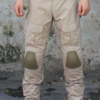 harga Celana Kneepad Tactical Tan Gurun Tokopedia.com