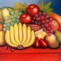 Lukisan Buah Buahan 80x60 Simbol Hadirkan Kelimpahan Makanan di Rumah5