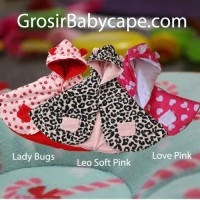 harga Grosir dan Ecer Baby Cape / Reseller Babycape / Jaket Bayi Cloak Tokopedia.com
