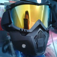 Google Mask Helm Cross Kacamata Goggle