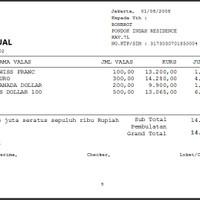 Software Kasir Pos Money Changer - Jual Beli Valuta Asing