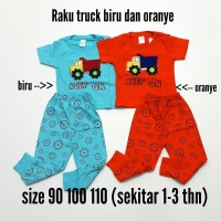 Baju Bayi Setelan Anak Laki-Laki Raku-Raku