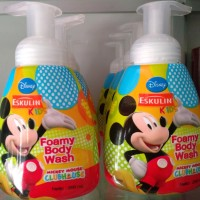 harga ESKULIN KIDS FOAMY BODY WASH 200 ML Tokopedia.com