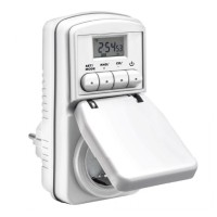 Taff Digital Timer Switch with IP44 Waterproof - WT001 Berkualitas