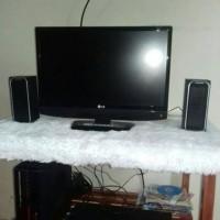 Alas Bulu untuk Foto produk Online shop, alas meja, alas tv, komputer