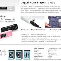 Transcend MP3 Ori 330 8 Gb Garansi Resmi 1 Tahun Wc Murah