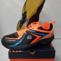 harga Sepatu Sport /  Sepatu Badminton RS JF 793 Black Orange Tokopedia.com