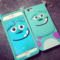 Case Silicone Rubber 3D Sulley Samsung J1 Ace,Mini,J2,J3,S7 Edge,Note5