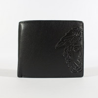 Dompet Kulit Pria Tidur Premium Branded | Versace 27-12 Black