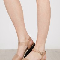 harga Sepatu Flat Teplek Sendal Wedges Wanita Termurah Elyse Nude Tokopedia.com