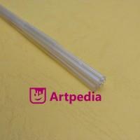 harga MAKET Pipa Bulat PVC / Diorama ABS GLASS Stick-Batang 2mm Tokopedia.com