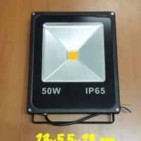Lampu Sorot LED/Lampu Tembak LED/LED Flood Light 50 Watt Warm White