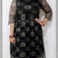 Harga dress lapis brokat hitam   Pembandingharga.com