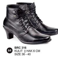 sepatu boots wanita, pantofel boots wanita, sepatu boots cewek brc 316