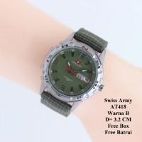 Jam Tangan Wanita / Cewek / Jam Murah Swiss Army Verra Green In Green