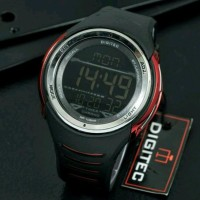 JAM TANGAN PRIA ANTI AIR DIGITEC JAGUAR DIGITAL ORIGINAL BLACK RED