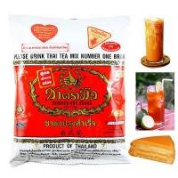 Jual Thai Tea Number One Brand 400gr Asli Import Thailand Original Teh Milk Murah