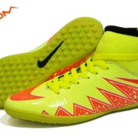 murah sepatu futsal nike hypervenom made in vietnam hijau oren
