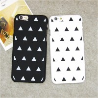 IPhone 5 5s iPhone5 Korean Hard Case Hardcase Couple Black White