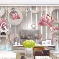 Jual Wallpaper Dinding Model Teratai Emas 3 Dimensi Untuk Ruang Tamu Kota Pontianak Usaha Jaya Raya Tokopedia