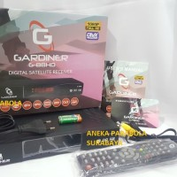 Receiver Parabola HD Gardiner G-88 Hd Support Powervu