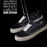 Sepatu Wanita Vans Checkerboard Waffle EVB Made Vietnam High Quality