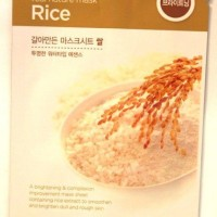 The Face Shop Real Nature Mask Sheet Rice