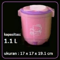 Mini Rice Cooker Warmer Magic Jar Com Masak Nasi Bubur Hello Kitty H