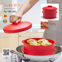 Wadah Kukusan Tupperware Steam It