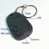Spy Cam Remote Mobil + Gantungan Kunci (Slot Micro SD)_Bis