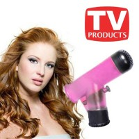 Wind Spin Easy Curl - Corong Hairdryer Pengeriting Rambut_Bis