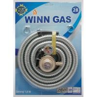 Winn Gas 28 Regulator Meteran dan Selang Komplit_Bis