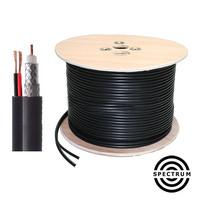 Spectrum Cable RG6 2 in 1 : Kabel CCTV_Bis