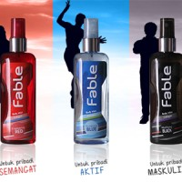 Fable Body Mist Cologne - Pria (1 pak isi 3 Variasi Aroma)_Bis