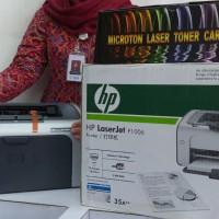 harga Printer Laserjet HP P1006 (Sama dengan HP P1102) - Paket Lengkap Tokopedia.com