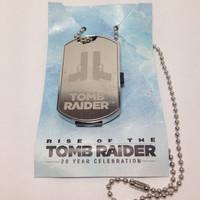 Dog Tag + USB Drive 8GB Rise of Tomb Raider PS4