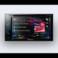 Double Din Multimedia Dvd + Usb Player Pioneer Avh-195dvd