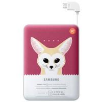 Samsung Power Bank Animal Batteri Pack 8400mah(Fox)Original