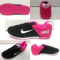 sepatu nike neo running woman cewek hitam pink import vietnam 37-40