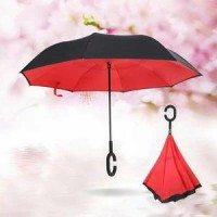 Jual Payung Terbalik Kazbrella Payung Mobil Reverse Umbrella Gagang C Murah