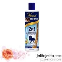 Vienna Blue Horse Shampo 2in1 Shampoo + Conditioner / Pemanjang Rambut