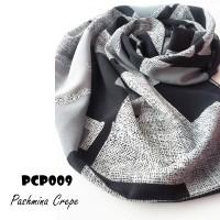 harga Pashmina motif bahan Crepe kode PCP009 Tokopedia.com