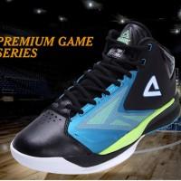 harga SEPATU BASKET PEAK Sport FIBA Series Mens World Cup Black/Blue Tokopedia.com