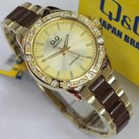 TERMURAH!! Jam tangan wanita QQ QnQ Q&Q original tali rantai anti air