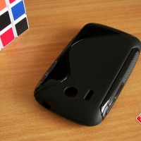 Softcase Silikon SoftGel Jelly TPU Soft Case Cover Casing HTC Explorer