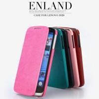 Flip Case Cover Casing Book Kuat KLD Enland Leather Dompet Lenovo S920