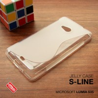 Softcase Bening Clear Soft Case Cover Casing Nokia Microsoft Lumia 535