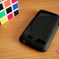 Softcase Silikon SoftGel Jelly TPU Soft Case Cover Casing HTC Salsa